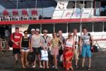 На фоне нашего кораблика