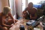 Дина Лукоянова и Артур Залога в процессе обучения
